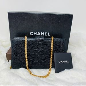 Authentic Coco Chanel Wallet /WOC